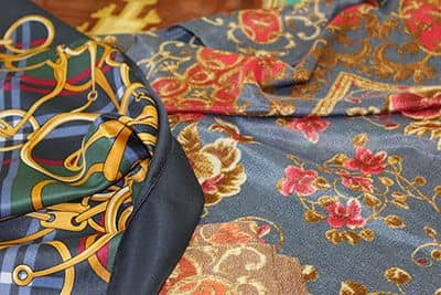Italian silk scarves wholesale: manufacturers and brands of square silk scarves
